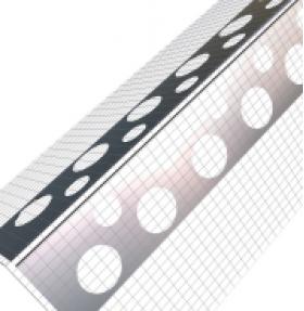 Profil de colt aluminiu cu plasa